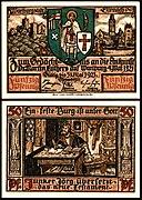 Eisenach 50 Pfg 1921 Luther übersetzt das neue Testament.jpg