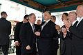 El Canciller Héctor Timerman asistió junto al embajador de Israel, Daniel Gazit al acto recordatorio en memoria de las víctimas del atentado a la embajada de Israel, hace 19 años en ese mismo lugar (5535561800).jpg