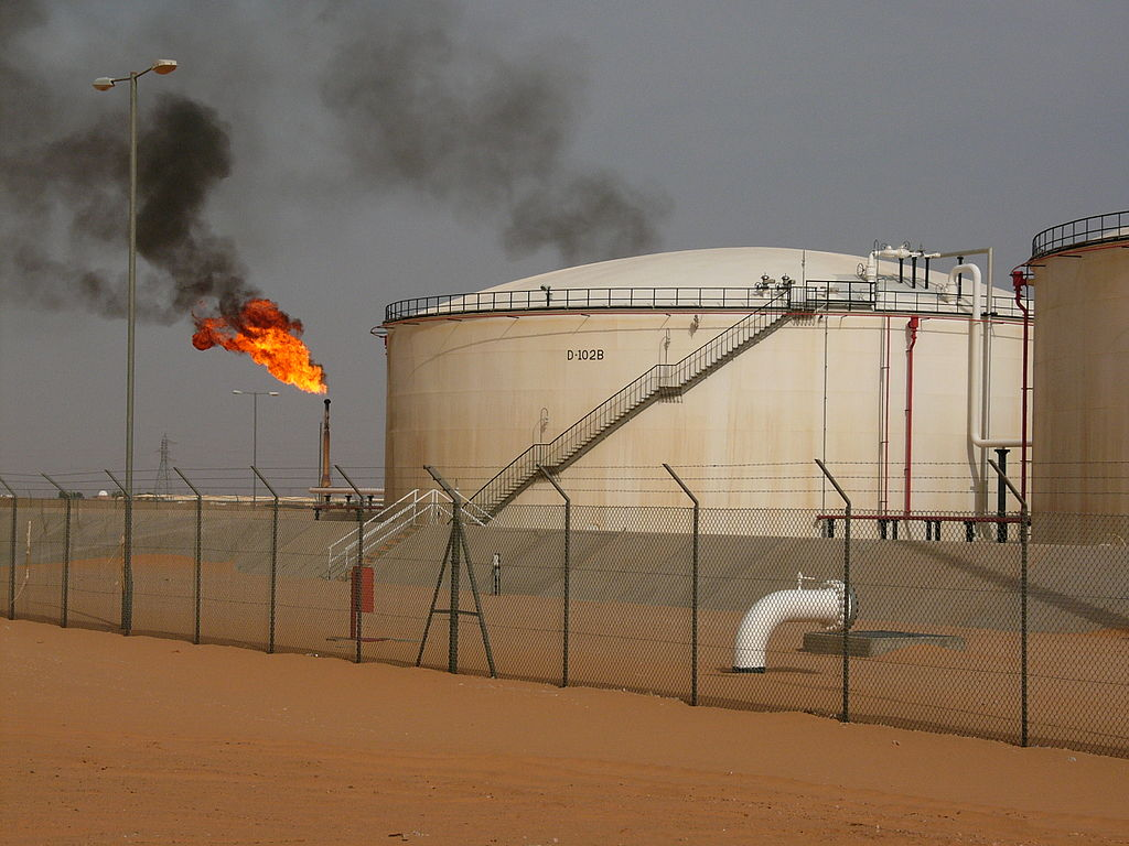 Image result for Libya oil field