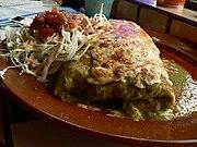 Cleveland-style baked burrito