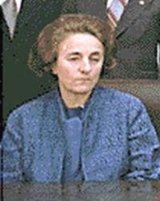 Trial of Nicolae and Elena Ceaușescu - Image: Elena Ceausescu