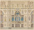 Elevation of the Royal Box for the Coronation of Louis XVIII, Reims Cathedral MET DP-285-001.jpg