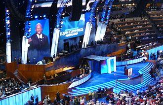 Elijah Cummings - Cummings speaking at the 2008 Democratic National Convention