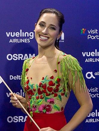 Elina Nechayeva - Nechayeva at the Eurovision Song Contest 2018