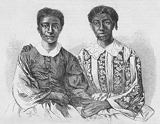 Dred Scott - The case centered on Dred and Harriet Scott (top) and their children, Eliza and Lizzie