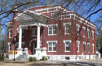 Arnett, Oklahoma - Ellis County courthouse
