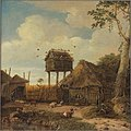 Emanuel Murant - Boerenerf met duiventil - 1553 (OK) - Museum Boijmans Van Beuningen.jpg