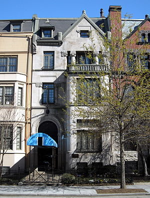 Thomas H. Anderson (judge) - Former residence of Thomas H. Anderson in Washington, D.C.
