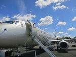 Embraer Lineage 1000 exterior entry.JPG