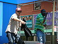 Emcee T & Ray Luv performing at 5th Annual AHSC 3.JPG