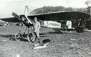 Morane-Saulnier - Image: Emile Taddéoli monoplane