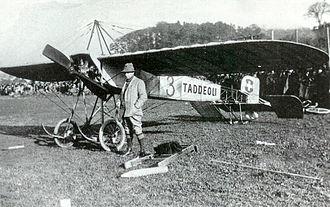Morane-Borel monoplane - Image: Emile Taddéoli monoplane
