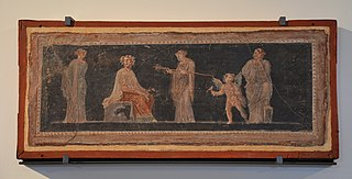 Pinakes with Dionysian scenes