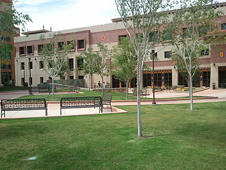 University of Texas at El Paso - College of Engineering complex area
