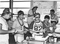 Engineering students at chili cook-off, University of Texas at Arlington Engineering building (10002873).jpg