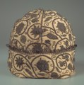 England, Elizabethan Period, late 16th century - Man's Nightcap - 1950.352 - Cleveland Museum of Art.tif