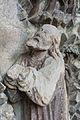 Enns Stadtpfarrkirche Wallseer Kapelle Ölbergrelief Jesus.jpg