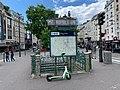 Entrée Station Métro Pigalle Paris 2.jpg