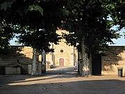 Entrée du cimetière Saint-Martin de Miribel.JPG