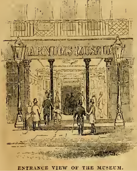 File:Entrance to Barnum's American Museum, New York City.tiff