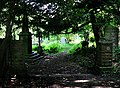 Entrance to Shipley Hirst Wood Burial Ground - geograph.org.uk - 453616.jpg