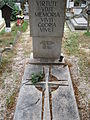 Entz Géza (1913–1993) sírja.JPG