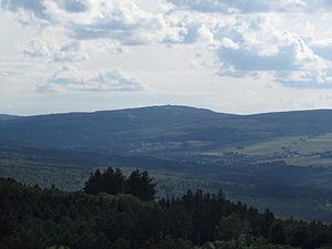 Hunsrück - The Erbeskopf from the northeast