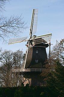 De Heidebloem, Erica mill in Drenthe, Netherlands
