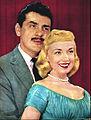 Ernie Kovacs and Edie Adams 1956.jpg