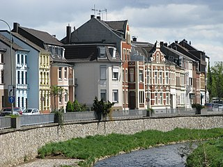 Eschweiler Place in North Rhine-Westphalia, Germany
