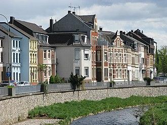Eschweiler - Indestraße in Eschweiler