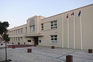 Education in Portugal - Diogo de Gouveia Secondary School, Beja.