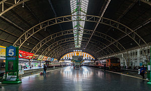 Train shed - Bangkok