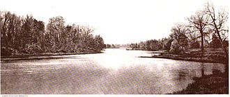 Queenstown, Maryland - Estuary of the Chesapeake Bay near Queenstown, c. 1897