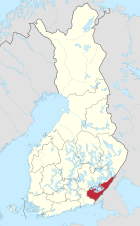 Lage in Finnland