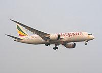 ET-AOR - B788 - Ethiopian Airlines