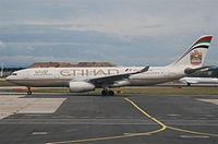 A6-EYL - A332 - Etihad Airways