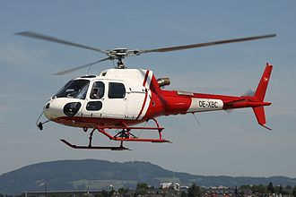 2015 Villa Castelli mid-air collision - Both helicopters were Eurocopter AS350B3 Écureuils, similar to this one.