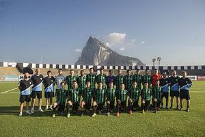 Europa F.C. - Europa FC squad on 25 June 2015