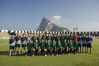 Europa F.C. - Europa FC squad on 25 June 2015