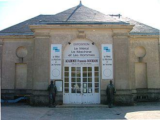 """François Bourdon - Exhibition """"Metal, Machine and Men"""" created by the François Bourdon Académie in the town of Le Creusot"""