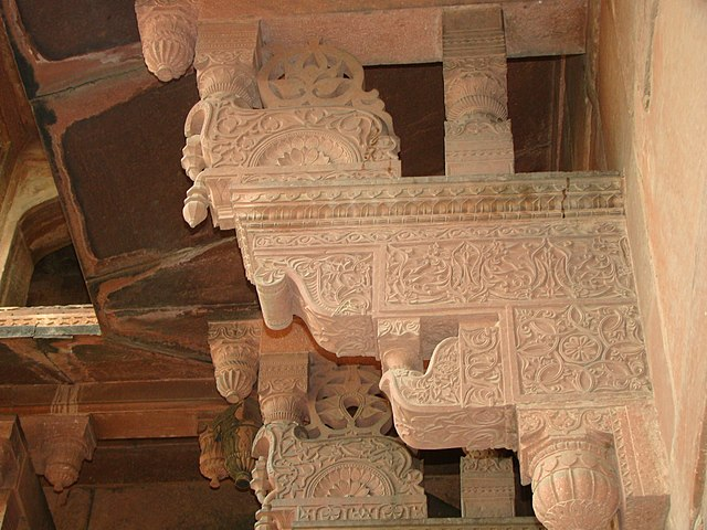 File exquisite stone craft inside the fort jpg wikimedia for Exquisite stone