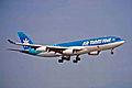 F-OITN A340-211 Air Tahiti Nui KIX 11JUL01 (6902697130).jpg