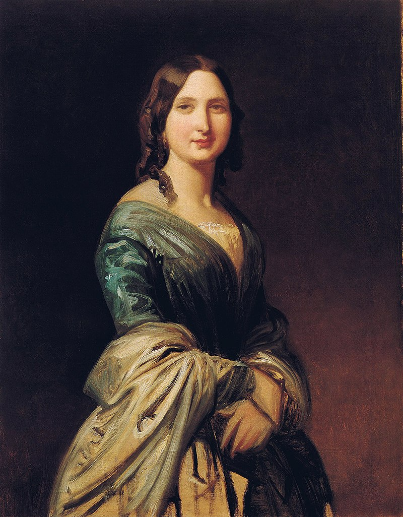 F. de Madrazo - 1866, Luisa de Madrazo y Garreta (Colección particular, Madrid, 85 x 72 cm).jpg