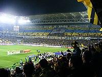 Bir Fenerbahçe-Galatasaray maçı seramonisi