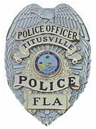Titusville Police Department - Image: FL Titusville Police Badge