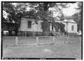 FRONT AND EAST SIDE, FACES NORTH - Norwood Plantation, County Road 54, Faunsdale, Marengo County, AL HABS ALA,46-FAUN.V,2-1.tif