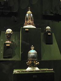 Faberge eggs in Kremlin Armoury 01 by shakko.jpg