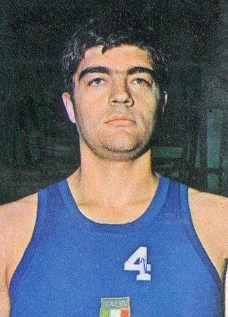Fabrizio Della Fiori - Della Fiori, in 1975.