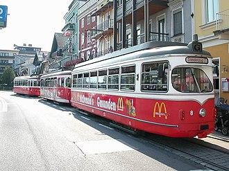 Rail transport in Austria - Some tramways in Gmunden